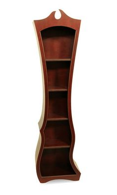 "Bookcase No. 10 from Dust Furniture;  77""h x 22""w x 13""d"