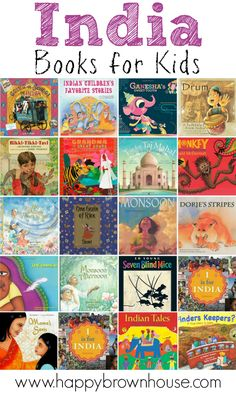 This list of India Books for Kids is a perfect starting point for an India unit study. Learn about Indian culture, beliefs, and more. Fiction and Nonfiction Childhood Education, Kids Education, India For Kids, India Culture, Preschool Books, Fiction And Nonfiction, Thinking Day, Kids Reading, Biographies