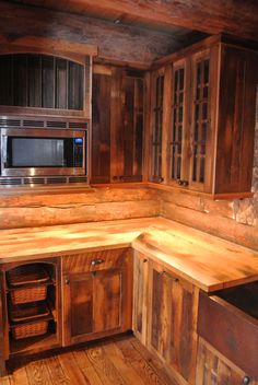 Reclaimed Cabinets.