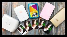 Mini Photo Printer Comparison   LG Pocket, Polaroid Zip, Kodak Mini Printer, Fujifilm, HP - YouTube