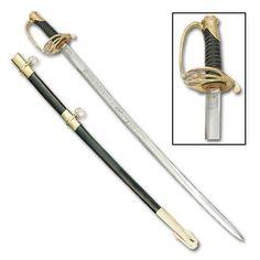 Civil War Confederate Saber Sword