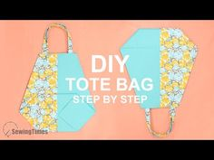 Cómo hacer bolso de tela fácil | Tutorial Bolsa de compras [sewingtimes] - YouTube Diy Bags Step By Step, Pencil Case Tutorial, Shopping Bag Design, Diy Tote Bag, Embroidery Patterns Free, Youtube, Simple Bags, Lining Fabric, Cool Designs