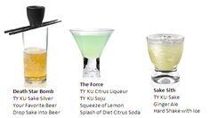 Star Wars Themed Cocktails by TY KU Premium Sake - Fashion-Travel-Lifestyle: Social Vixen | Fashion-Travel-Lifestyle: Social Vixen