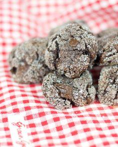 Galletas de chocolate veganas Cupcakes, Cupcake Cakes, Vegan Chocolate Cookies, Cooking Cookies, Pastry Cake, Cupcake Recipes, Biscotti, Healthy Snacks, Vegan Recipes