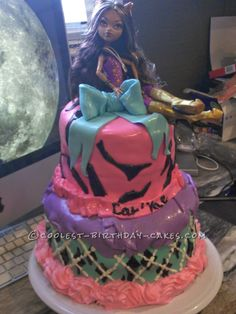 Monster High Birthday Cake Idea...