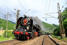 ČD 179 at Vrutky Prague Spring, Train Times, Steam Locomotive, Techno, World, Travel, Europe, Locomotive, Vehicles