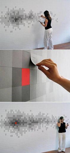 pattern design on wall