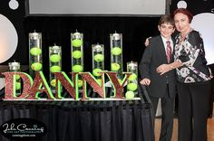 Creative Ideas for Your Candle Lighting - Tennis Theme from Canning Photography - mazelmoments.com