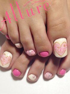VALENTINE #nail #nails #nailart  | See more nail designs at http://www.nailsss.com/acrylic-nails-ideas/2/