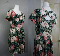 Carol Anderson Black Floral Rose Print Soft by citizenrosebud