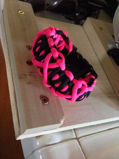 Breast Cancer Awareness Month Paracord Bracelet