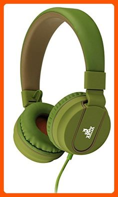 Artix Headphones with Microphone for Travel, Work, Kids, Teens, Running Sport with In-line Controller (Green) - Audio gadgets (*Amazon Partner-Link)