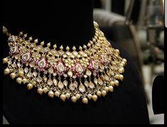 Gold Jewelry Design In India Silver Jewellery Indian, Gold Jewellery Design, Gold Jewelry, Jewelry Necklaces, Diamond Jewellery, Vintage Jewelry, Quartz Jewelry, Handmade Jewellery, Jewellery Box