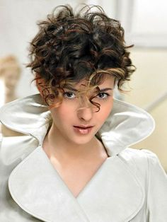 16 Short Hairstyles for Thick Curly Hair