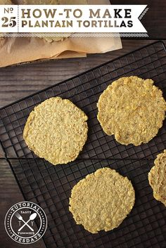 How-to Make Plantain Tortillas // @tastyyummies // www.tasty-yummies.com