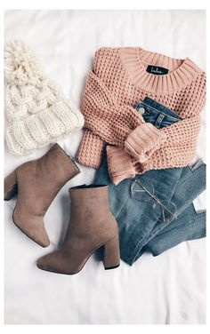 Neat Casual Outfits, Cute Winter Outfits, Fall Outfits, Outfit Winter, Black Outfits, Outfit Summer, Dress Casual, Rosa Pullover, Pullover Mode