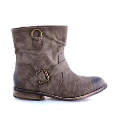 CIZME MARO HARLEY  119,0 LEI Bike Life, Biker, Wedges, Boots, Fashion, Crotch Boots, Moda, Fashion Styles, Shoe Boot