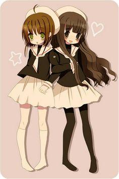 Sakura and Tomoyo - Best friends