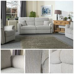 La-Z-Boy Indiana sofa collection  With a wide range of chenille fabric colours to choose from, you can select the right sofa from this famous sofa brand to match your colour scheme in 2017. This classic La-Z-Boy Indiana sofa collection comes with foam seat interiors as standard, offering high levels of comfort and support.