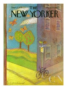 New Yorker Cover Dog   The New Yorker Cover - September 27, 1976 Poster Print by Eugène ...