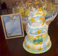 three tier star cake