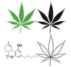 11 x Cannabis Stickers Vinyl Weed Decals Ganja Smoke Buds Marijuana Kush THC