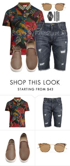"""""""Men's What to Wear: Music Festival"""" by keys2luxlife on Polyvore featuring Valentino, Dolce&Gabbana, Thom Browne, men's fashion and menswear"""