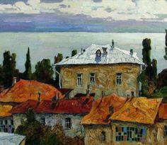 Por amor al arte: Denis Sarazhin Impressionist Landscape, Landscape Art, Landscape Paintings, List Of Artists, Artist List, Urban Painting, Ukrainian Art, Russian Art, Contemporary Paintings