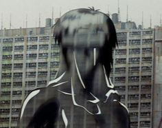 An example of the needless sexualization of women: In the scene where Motoko and her team search for the hacker, he wears a thermodynamic coat, which allows him to become nearly invisible. When he takes it off, he is still fully clothed. For Motoko to have the same effect, she needs to be completely naked, and is revealed to be several times when she appears from her thermodynamic coat. #IML295_week6