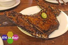Grilled Tuna Panga STK ta Bay! Freedom Wall, Seafood House, Grilled Tuna, Cebu, Grilling, Pork, Dining, Seared Tuna, Kale Stir Fry