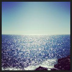 Cobalt Blue Horizons...  #sea #blue #emotions #love #salento #instagram