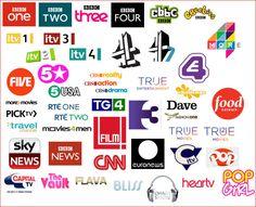 Лучших изображений доски 171 Television Channel Logotypes