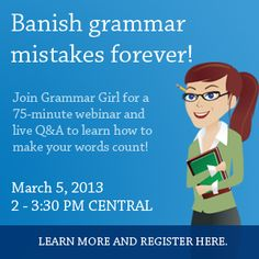 Grammar Girl : Where Do I Use Commas? :: Quick and Dirty Tips ™