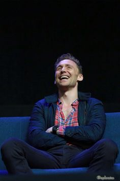 Tell me how many people in this world have a smile so cute? That's right, there's ONE, and that is - Tom Hiddleston ❤️