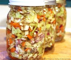 Cooking With Mary and Friends: Pickled Cabbage Slaw Canning Cabbage, Canning Peppers, Pickled Cabbage, Cabbage Slaw, Pickled Eggs, Slaw Recipes, Canning Recipes, Potato Recipes, Lobster Stew