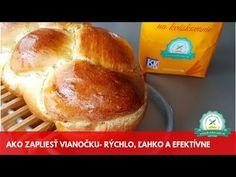 Ako zapliesť vianočku- rýchlo, ľahko a efektívne - YouTube Bread, Sweet, Youtube, Food, Candy, Brot, Essen, Baking, Meals
