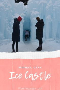 Winter is here! We live in Utah where winter is in full throttle. I have been thinking about all the Salt Lake City winter activities around town and trying to do as many as possible. The Midway Ice Castle has been on my list for a few years. We decided that this was the year we would check it out! #planningaway @planningaway