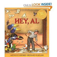 Hey, Al: Arthur Yorinks, Richard Egielski: 9780374429850: Amazon.com: Books