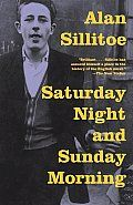 Day 39: Saturday Night and Sunday Morning by Alan Sillitoe. This novel takes you into the life of a bicycle factory worker in England for one weekend. I'm sure it's different for every reader, but I couldn't help but compare his life to my own. It was a really amazing and eye-opening experience for me. Really cool to be transported not only to another time and place, but also into someone else's way of being.