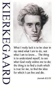 Leer todas las obras de Kierkegaard.
