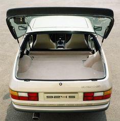 Porsche 924S hatch open shot