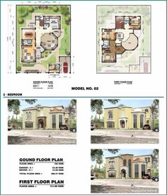 Arabian house plans