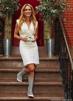 """""""Talk Of The Town"""" Celebrity Social Story Interview & Pictorial of Talk Stoop TV Talk Show Host Cat Greenleaf by Stylist Vincent Michaud. Celebrity Women's Fashion by Creative, Art, Photo, Fashion Director & Stylist Vinny Michaud."""