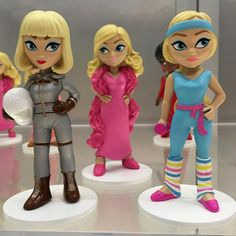Barbie Rock Candy figures by Funko