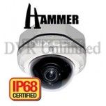 DT-602M 620TVL IP68 with Fixed Lens Complete Water-Vandal proof Camera