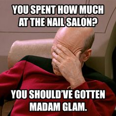 Amazing results in  the comfort of your home! Over 300 beautiful colors of gel, nail polish and more!!! Get them all at 50% OFF at https://www.madamglam.com/?utm_source=pinterestad-salonstartrek