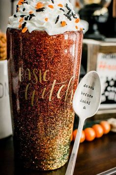 Diy Tumblers, Custom Tumblers, Glitter Tumblers, Coffee Tumbler, Tumbler Cups, Glitter Cups, Glitter Glasses, Coffee Cup Crafts, Custom Starbucks Cup
