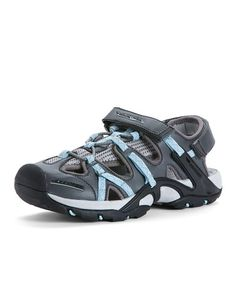 Take a look at this Gray & Light Blue Campfire Water Shoe by Mountrek on #zulily today!