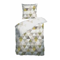 Sengetøj, bomuldssatin, Night&Day,140x200 cm