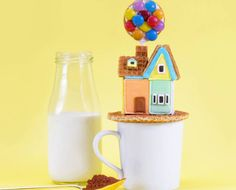 Take Flight With This 'Up' Hot Cocoa